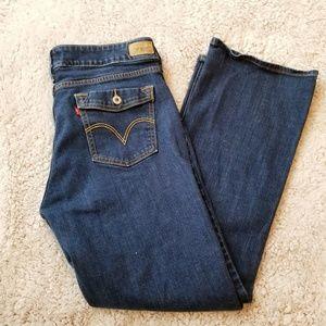 Levi's 526 Slender Boot Cut Jeans Flap Pocket